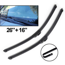 Front Windscreen Hook Wiper Blades Pair of 26inch (660mm) / 16inch (405mm)