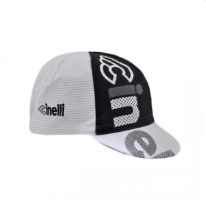 NEW Cinelli Optical Graphic Cycling Cap - Black White Road Urban Fixie Retro