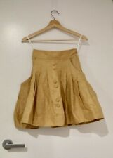 Aje linen cotton mini skirt size 6 BRAND NEW