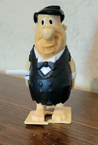 2000 Burger King Flintstones Viva Rock Vegas Wind up Fred Tuxedo