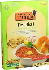 Kitchens of India Pav Bhaji (Mashed Vegetable Curry) 10 oz (Pack of 6)