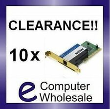 BULK Lot 10x Netcomm Internal/Int ADSL PCI Modem *NEW*