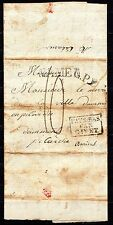 Netherlands / Belgium - 1822 complete letter from Namur to Amiens over Givet