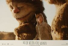 WHERE THE WILD THINGS ARE - Lobby Cards Set - Max Records, Spike Jonze