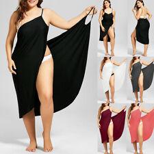 Women Swimwear Beachwear Bikini Cover Up Wrap Sarong Sling Maxi Dress Plus Size