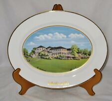 Isleworth Golf Clubhouse England, Bill Waugh, LE, Large Collector Plate