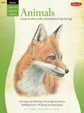 Animals in Colored Pencil / Drawing: Learn to Draw Step by Step (How to Draw and