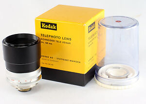 Kodak Retina Reflex Schneider Tele Xenar Lens 4/135 mm, in original box & bubble