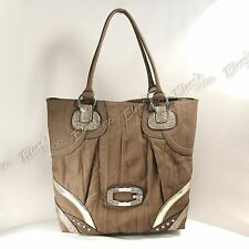GUESS Purse Jayna Camel PE313025 Handbag TOTE Tan NEW Shopper Purse NWT $125 Bag