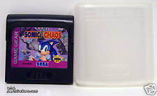 Sonic Chaos (Game Gear) W/ CLAMSHELL CASE!!!