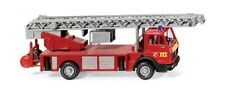 Pompier DLK 23-12 MB 1619 Metz Wiking 061802 échelle H0 1:87 Maquette de voiture