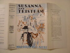 Susanna and Tristram, Marjorie Nill Allee, Dust Jacket Only