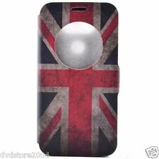 Custodia LIBRO Cover UK case Hard Back Wallet DISEGNO per LG G5 H850 5.3