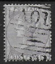 SG68. 6d.Lilac-Fine AO1 Pmk.Of Kingston, Jamaica. Shows DISPLACED WMK. Ref:12131