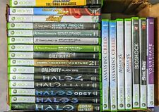 Lot of 21 Xbox 360 Games, Halo, Call of Duty, Splinter Cell + original the Halo