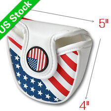 US Flag Magnetic Golf Mallet HeadCover For Scotty Cameron Odyssey Putter Cover