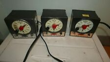 3x Assorted Model Time-O-Lite Darkroom Timers M-72 P-72 P-59