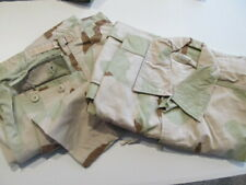 (1 Set) Military Shirt Lg/Reg 1991 & Trouser Lg/Reg 1997 Desert Camo Combat