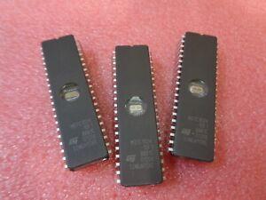 3 x M27C1024-10F1 STM 1 Mbit (64Kb x16) UV EPROM 20PIN DIL NEW UKINSTOCK
