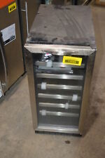 """Danby Dwc1534Bls 15"""" Stainless Built-In Wine Cooler Nob #13585 Mad"""