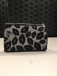 lulu guinness make up bag - Black (F5)