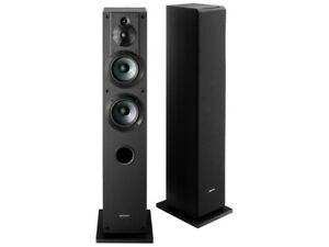 New SONY SS-CS3 SSCS3  M UC 3 Way Speaker System (1unit) Black Hi-Res from Japan