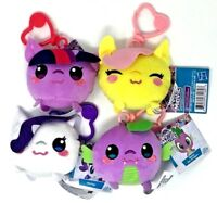 MY LITTLE PONY THE MOVIE Backpack Clips - Spike, Rarity, Fluttershy, Twilight