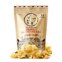The Golden Duck Gourmet Salted Egg Yolk Potato Chips Crunchy Crisps 125g 4.4oz