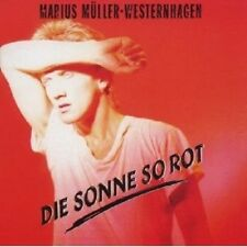 WESTERNHAGEN - DIE SONNE SO ROT CD POP 12 TRACKS NEU