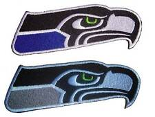 New 2 NFL Seattle Seahawks Football Logo embroidered iron on patch. (i4,i169)