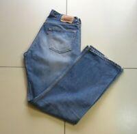 Vintage Men's Blue Denim LEVI'S 508 Button Straight Western Faded Jeans W 32 L32