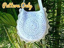 DIY CROCHET BAG PATTERN Slouchy Hobo Boho Shoulder Bag Paper Patterns 0136
