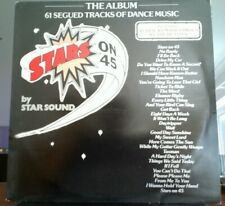 "VINTAGE VINYL LIMITED EDITION ""Stars On 45"" 61 TRACK by Starsound CBS DEMO PROMO"