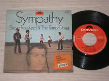 "STEVE ROWLAND & THE FAMILY DOGG - SYMPATHY / MOONSHINE MARY - 45 GIRI 7"" ITALY"