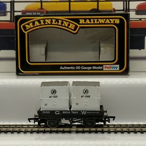 Mainline Railways 37401 G.W.R Matchtruck With Containers Works With HORNBY (57)