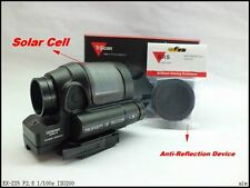 Tactical Solar Power SRS Red Dot Sight QD Mount Kill Flash Holographic Sight