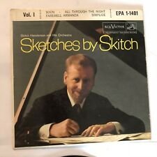 Sketches By Skitch Vol.1  45rpm Vintage Vinyl Record