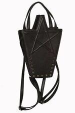 Banned Apparel Karma Bag Pentagram Punk Goth Emo Handbag Purse Backpack BG7159