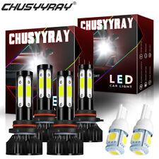 Combo LED Headlight Bulbs for Chevy Tahoe 1999-2006 High-Low Beam Side Lights