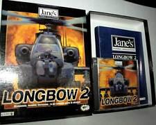 LONGBOW 2 GIOCO USATO OTTIMO STATO PC CDROM VERSIONE ITALIANA FB3 43409