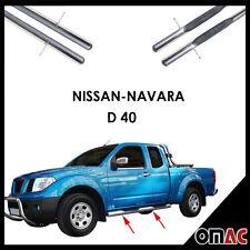 Se produit planches latérales ø70mm v2a Acier Inoxydable pour NISSAN NAVARA d40 2005-2014