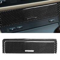 Carbon Fiber Console Storage Box Panel Trim Cover For BMW 3 Series E46 1998-05