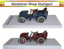 Porsche Museum Exclusive: Lohner-Porsche Mixte 1901 Blue And Red Brown - Nip