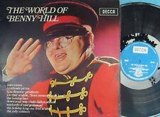 Benny Hill ORIG OZ LP World of Benny Hill EX '71 Decca PA116 MONO Comedy
