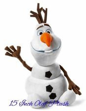 "Disney Collection Frozen 15"" Olaf Plush Snowman From Disney Collection, Nwt"