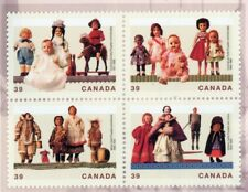 Canada MNH toy doll stamp set