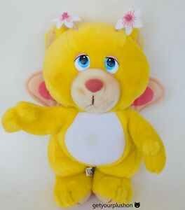 DISNEY HASBRO SOFTIES * THE WUZZLES * BUTTERBEAR PLUSH * 1984