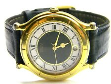 mens Seiko Age Of Discovery calendar date roman numeral dress watch 5Y22-6059 R1