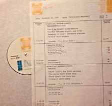 RADIO SHOW:RCA/VICTOR 11/26/87 DUANE EDDY,NILSSON,FLOYD CRAMER,DAVID BOWIE,ELVIS