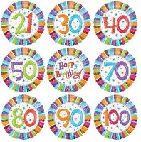 "RADIANT Birthday 18"" FOIL BALLOONS (Party/Celebration/Decoration)"